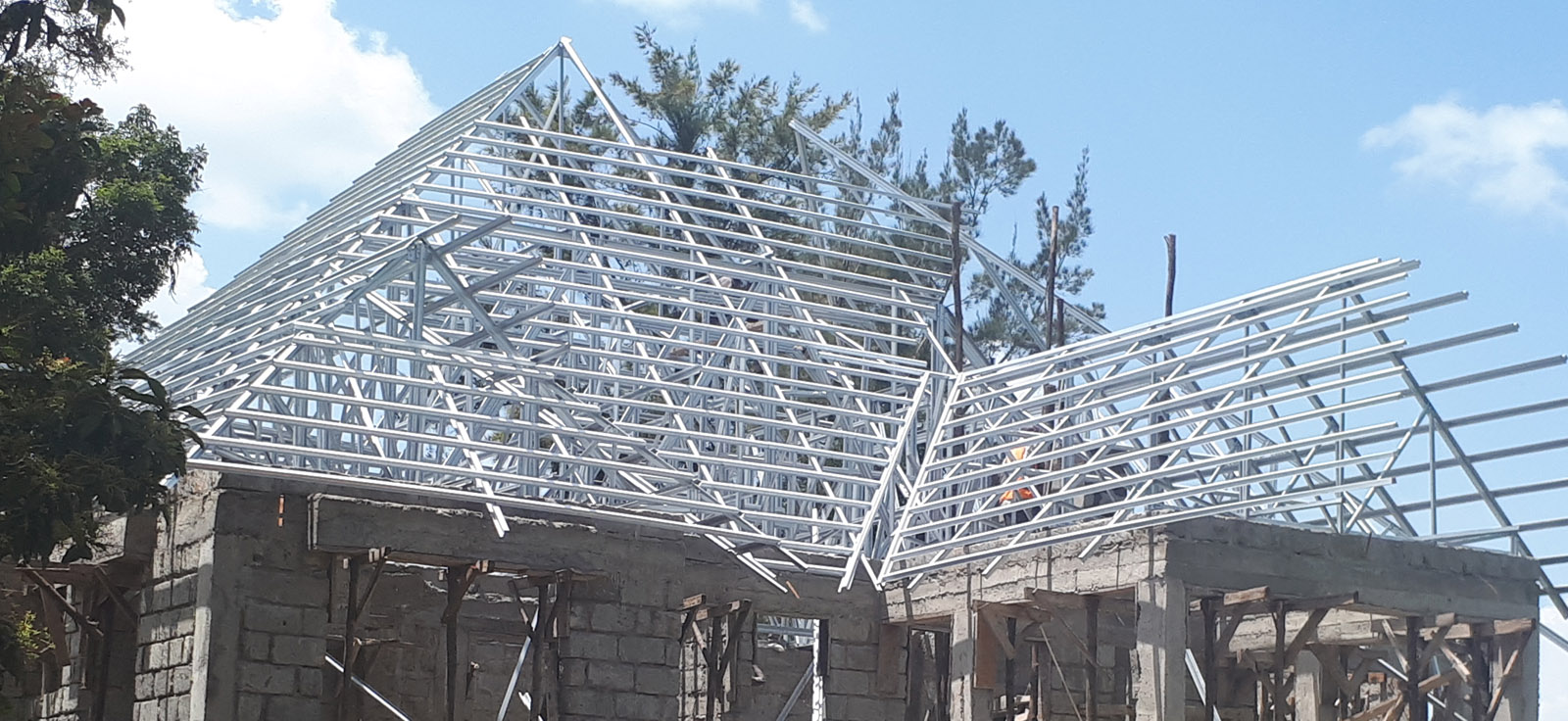 Fix Kenya Engineering and Construction Limited Products and Services - LIGHTGAUGE STEEL TRUSS SYSTEMS 1